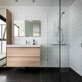 Contemporary Bathroom by Mata Design Studio