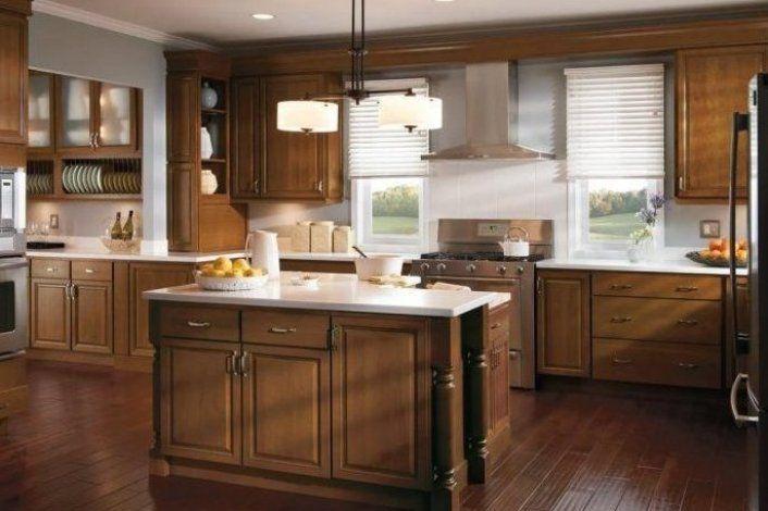 20 Stunning Kitchen Design Ideas With Mahogany Cabinets Diydekorkuche Dekorkuchediy Dekorkucheideen Small Kitchen Floor Plans Kitchen Design Menards Kitchen
