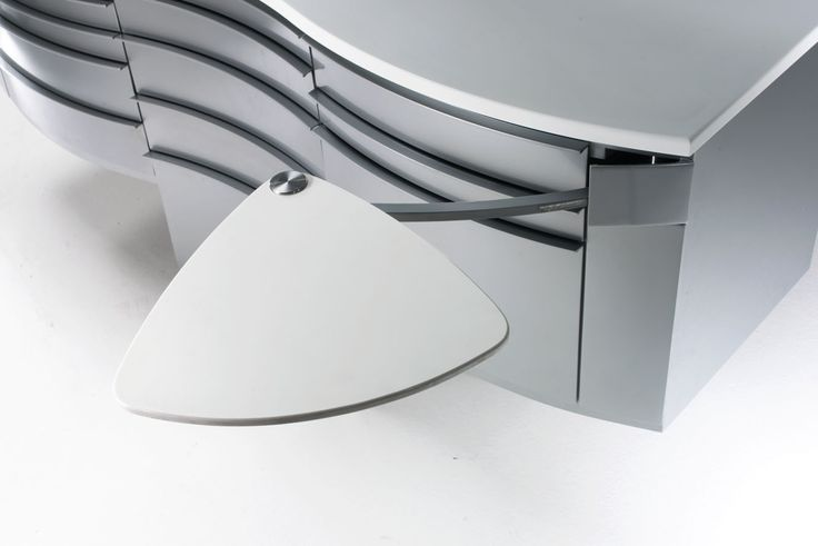 The Saratoga PF line represents an integrated system, designed to satisfy the effective working needs of professional dentists, more and more looking towards futuristic technology. #pininfarina #dentalcabinets #dental #remodel #hygiene #dentalhygiene #saratogadental