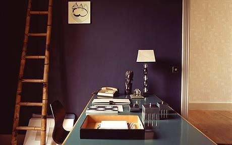 .Wall Colors, French Eye, Room Colors, Squid Ink, Decorating Ideas, Living Room, Painting Colors, Purple Wall, Bedrooms Ideas