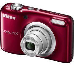 NIKON COOLPIX A10 Compact Camera - Red