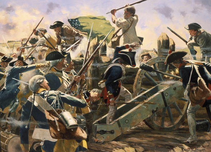 Battle of Bennington 1777, by Don Troiani.