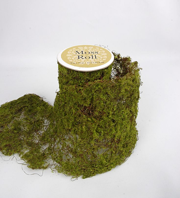 Sheet Moss Roll Artificial 6 x 36in - great for a woodland or spring themed party or wedding, going down a table under some candles and the like.