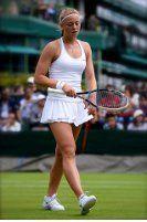 Carina Witthoeft in Wimbledon 2013. Ein Interview gibt`s auf http://www.tennis-insider.de