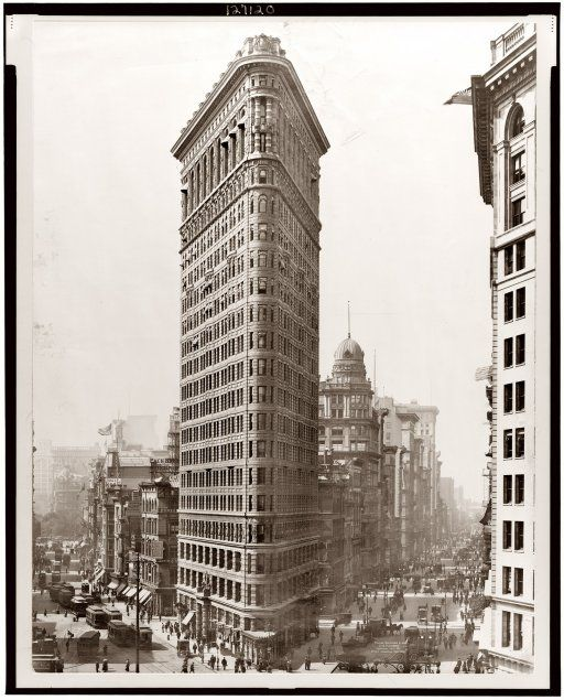 Flatiron Building. I think this is my favorite building ever made.