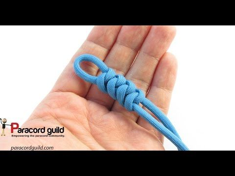 How to make a snake knot paracord lanyard tutorial - YouTube