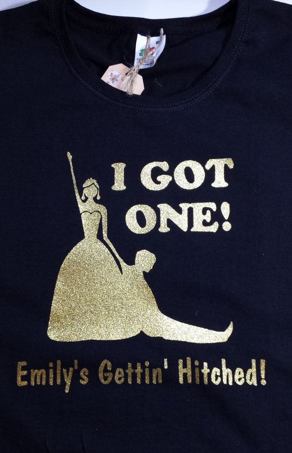 Humorous Hen Party T-Shirt - 'I Got One!' on Etsy, £6.99