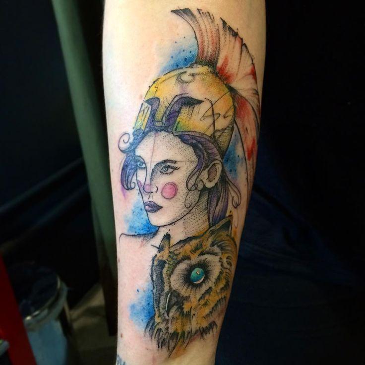Athena #leovalquilha #tattoo #tatuaje #tatuagem #tattoage #tatuaggio #tattoo2me #tatuadoresbrasileiros #tattooart #tattoobrasil #electricink #everlastcolors #usoelectricink #ink #inked #tatuadoresdobrasil #tattoo_clube #tattoaria_oficial #tattoariahouse #athena #goddess #watercolor #watercolortattoo #sketch #sketchtattoo #atena #deusa