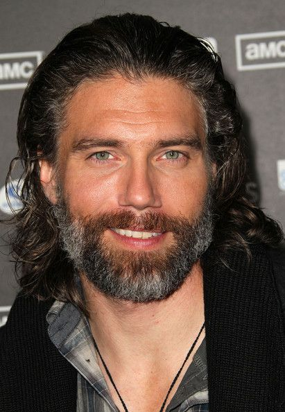 """Anson Mount Actor Anson Mount attends the premiere of AMC's """"Hell on Wheels"""" at L.A. Live on October 27, 2011 in Los Angeles, California."""