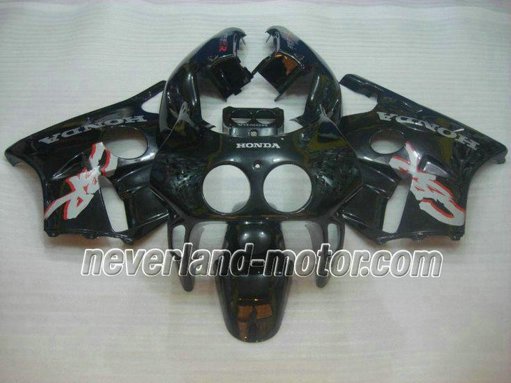Carenado de ABS de HONDA CBR 250RR MC22 1991-1998 - Negro