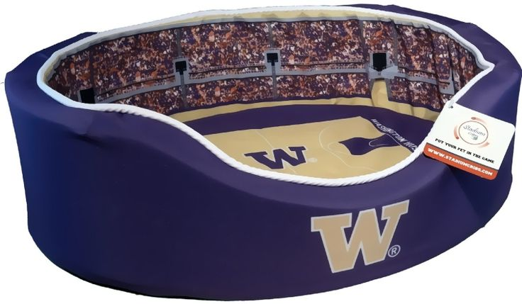 NCAA Washington Huskies Basketball Arena Pet Beds