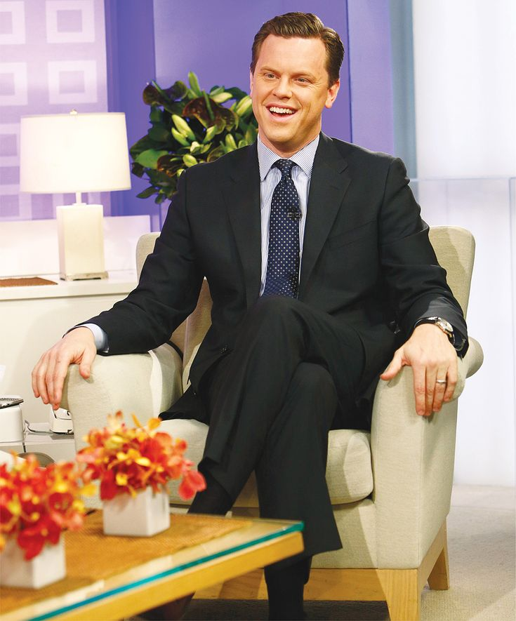 Willie Geist, BA'97, followers his father's example to success on morning TV