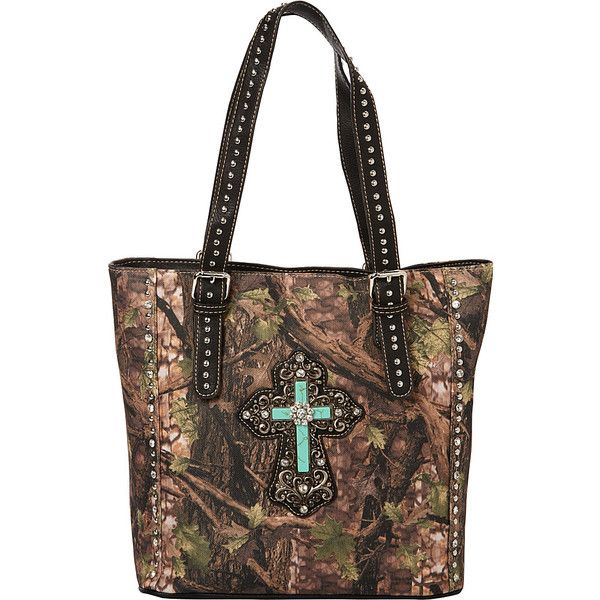 Montana West Spiritual Collection Camouflage Handbag - Green-Black -... ($43) ❤ liked on Polyvore featuring bags, handbags, shoulder bags, print, purse shoulder bag, zipper shoulder bag, man bag, handbags shoulder bags and camo purses