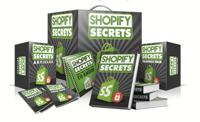 Shopify Secrets PLR Review Get The Private Label Right To Shopify Secrets And Resell For 100% Profits Starting Today