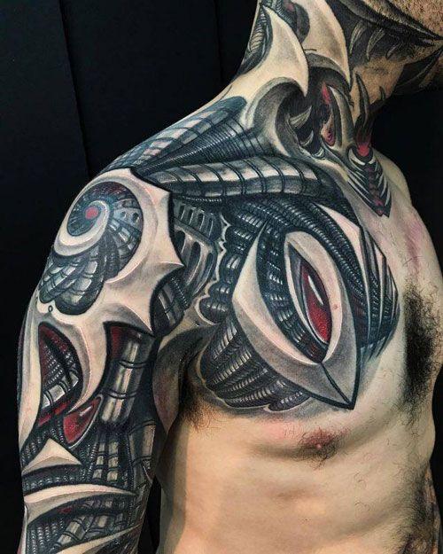 Shoulder Tattoos For Men 2019