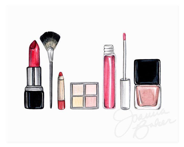 Makeup Drawings Easy