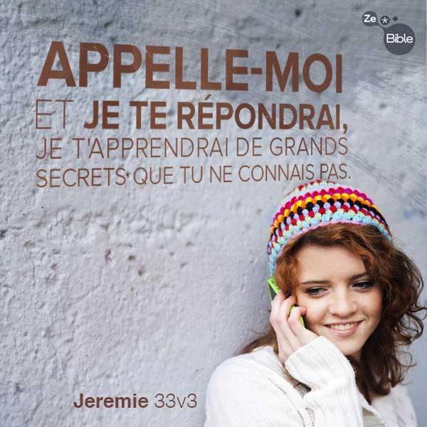 Jeremie 33:3