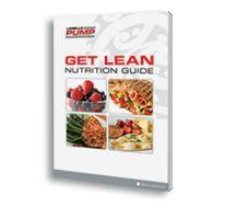 Les Mills Pump Get Lean Nutrition Guide.