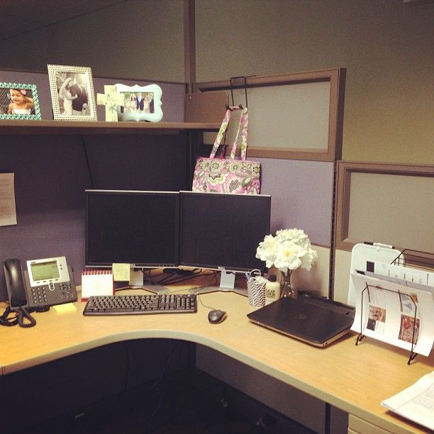 17 Best Images About Diy Chic Office Cubicle Crafts/Decor Ideas On