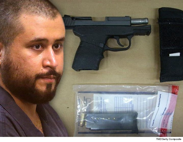 George Zimmerman Gun Auction Pulled Again ... And Then Relisted