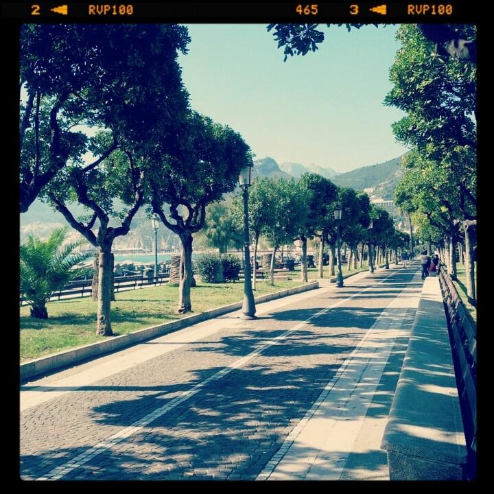 Salerno, il lungomare...