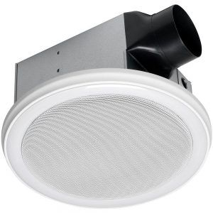 Vintage Bathroom Fan With Led Light And Bluetooth