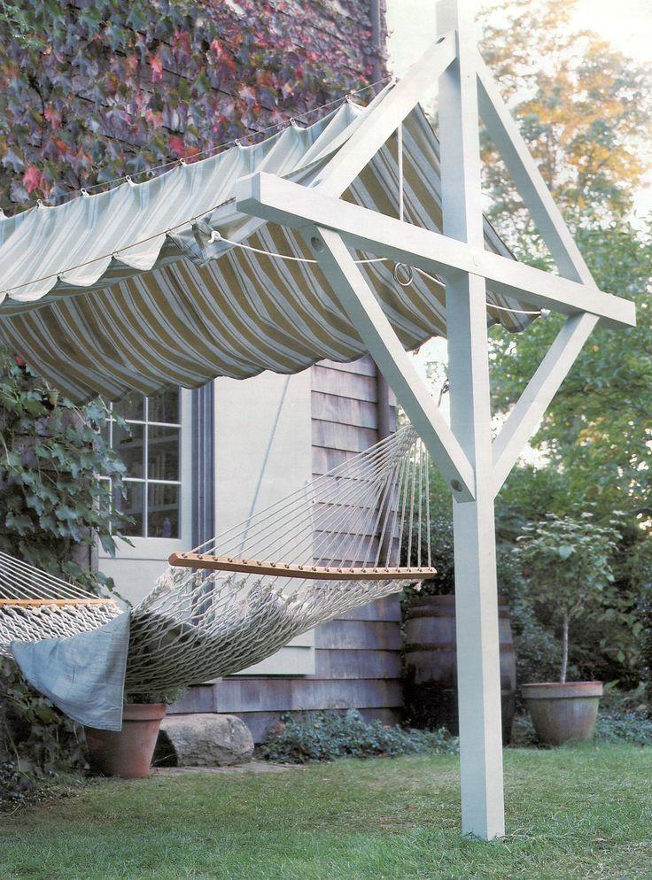 Canopy Clothesline With Hammock Added Martha Stewart