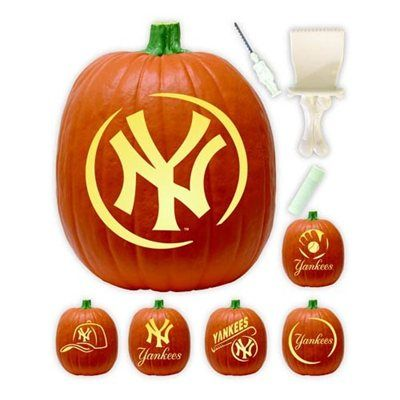 New York Yankees Pumpkin Carving Kit