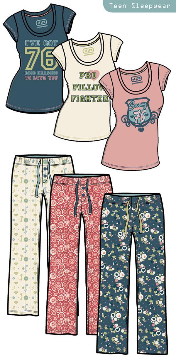 Junior Ladies Fashion Illustration by Josée Tellier, via Behance