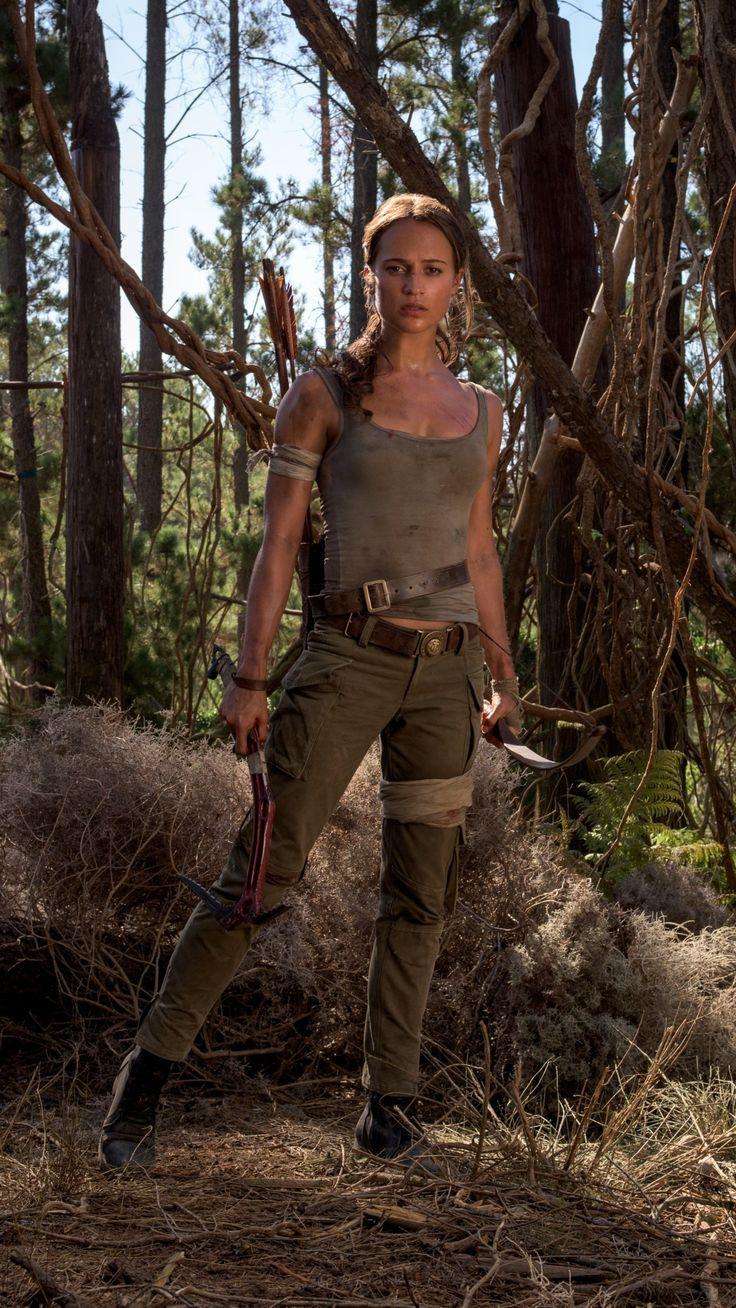 Movie Tomb Raider (2018) Tomb Raider Alicia Vikander Lara Croft Mobile Wallpaper