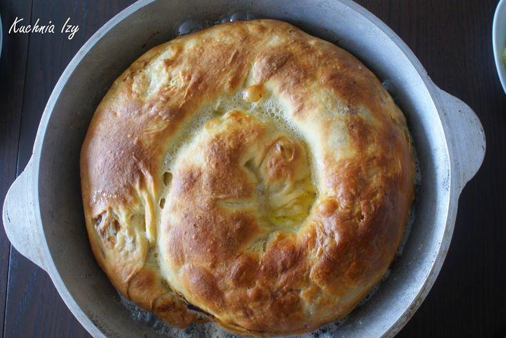 Kuchnia Izy: Pieróg tatarski (pierekaczewnik) we własnej osobie
