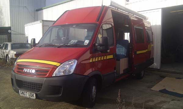 Iveco Daily extra long Bespoke conversion