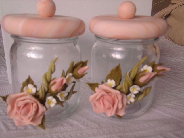 clay/baby food jars