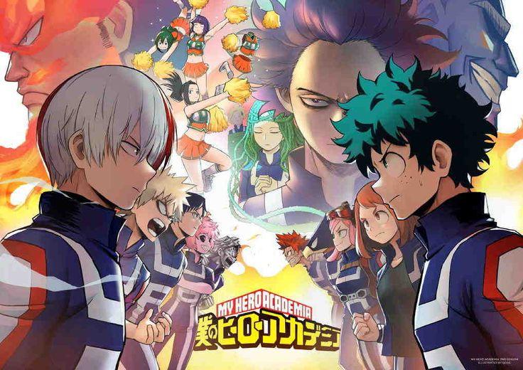 """Boku no Hero Academia Season 2 Subtitle Indonesia Batch - http://drivenime.com/boku-no-hero-academia-season-2-subtitle-indonesia-batch/   Genres: #Action, #Comedy, #School, #Shounen, #SuperPower   Sinopsis Musim kedua dari serial anime Boku no Hero Academia  Apa itu pahlawan? Bagi Izuku Midoriya, jawaban dari pertanyaan itu sangatlah sederhana: """"Pahlawan adalah seseorang yang selalu dicita-citakan"""" Dan siapakah pahlawan terbaik? Yah kalau itu, tentu saja sang lege"""