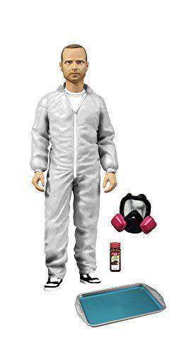 Breaking Bad Action Figure Jesse Pinkman Exclusive White Hazmat Suit Breaking Bad 6 inches action fi @ niftywarehouse.com #NiftyWarehouse #BreakingBad #AMC #Show #TV #Shows #Gifts #Merchandise #WalterWhite