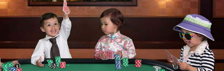 The Eight Year Old Boy who can beat you at Poker