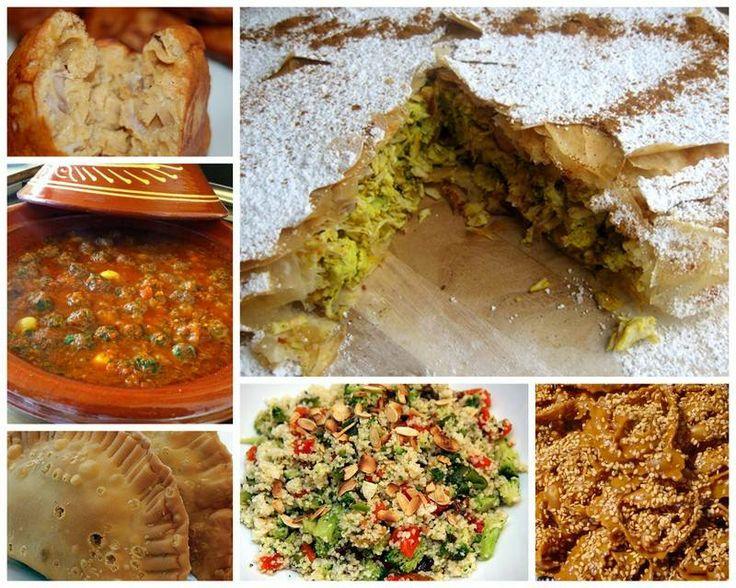 Menù: Akara(Polpette di pasta di fagioli e salsa piccante)-Fataya(Crespelle ripiene di carne e verdure in salsa agrodolce e uva sultanina)-Pastilla(Strati di pasta sfoglia ripieni di pollo con spezie, con uno strato croccante di mandorle tostate, cannella e zucchero)-Kefta Tajine e couscous di verdure(Polpette al sugo serviti con couscous e verdure) -Yassa(Dentice e ombrina fritti marinati al peperone verde, salsa di cipolla e riso bianco profumato)-Halva Shebakia(serviti con gelato al…
