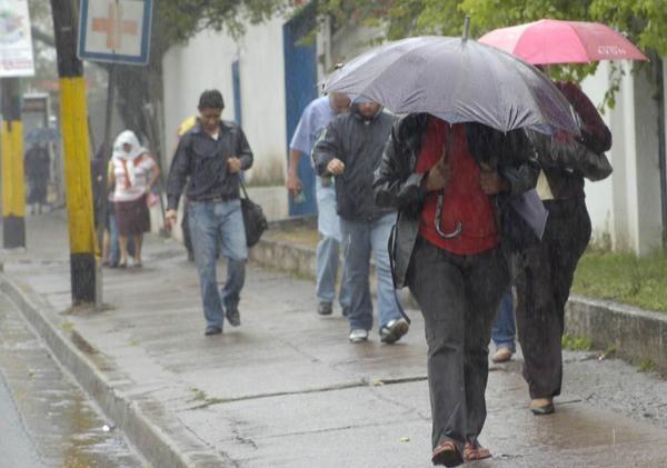Fin de semana de lluvias y bajas temperaturas