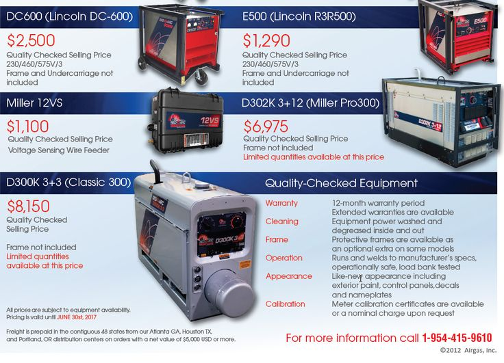 Our latest Used Equipment Flyer is here! Some great equipment featured. #TIG #MIG #welders #weldinglife See more > http://www.red-d-arc.com/pdf/Used-Welding-Equipment-Special-Offers-US-ET-APR-JUN-2017.pdf