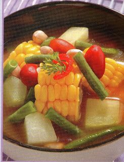 International Food Recipes | Resep Masakan & Makanan Indonesia: Sayur Asam Bandung @ www.masakkue.blogspot.com