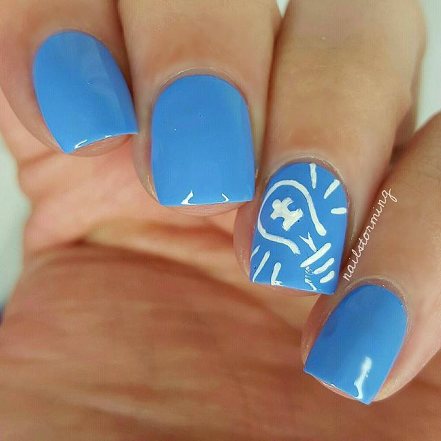 188 best polish for a cause images on pinterest nail polish gel april light it up blue for autism awareness different is not less products used base swagger details acrylic paint top coat hk girl prinsesfo Images