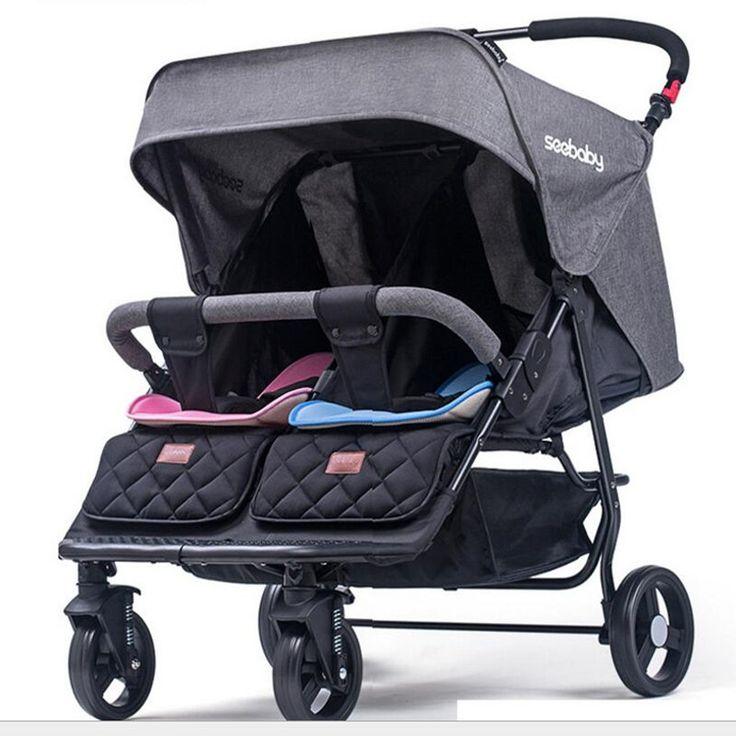 Tanie: 75 cm seebaby twins wózków dziecięcych może usiąść leży dziecko koszyk podwójny wózek dziecięcy Twins taczki wózki Dla Dzieci, kup wysokiej jakości Mutiple  Stroller bezpośrednio od dostawców z Chin: 75 cm seebaby twins wózków dziecięcych może usiąść leży dziecko koszyk podwójny wózek dziecięcy Twins taczki wózki Dla Dzieci