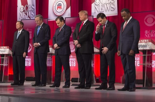 GOP candidates debate Obama's Scalia replacement