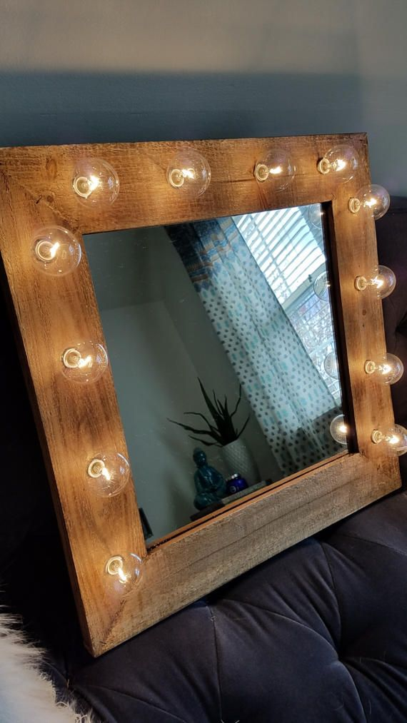 Rustic Vanity Mirror With Lights : 25+ best ideas about Farmhouse Vanity on Pinterest Bathroom vanities, Farmhouse bathroom sink ...