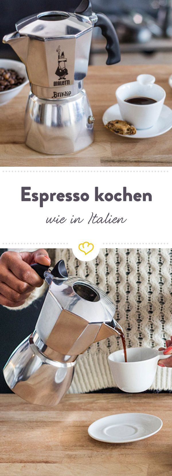 Espressokocher im Test ✓ Schritt-für-Schritt-Anleitung ✓ Was du beim Kauf beachten müssen ✓ Tipps zu Pflege & Reinigung ✓ Aluminium oder Edelstahl ?