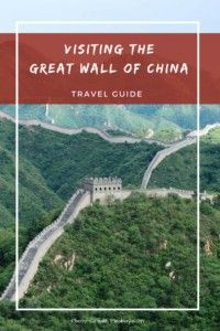 Visiting The Great Wall Of China: Travel Guide.  Make sure you read this guide before your first trip to the #greatwall of #china