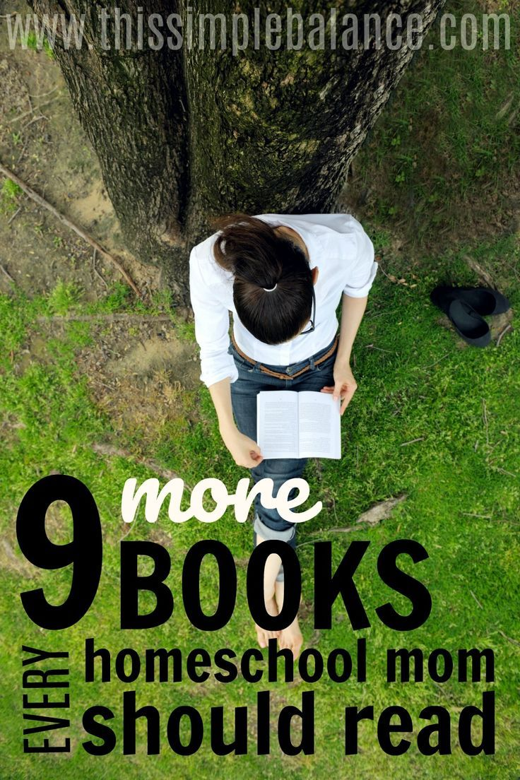 9 More Books Every Homeschool Mom Should Read: I'm always on the hunt for excellent books to inspire and shape my homeschool! This list had a couple great homeschool books I haven't seen before that I'm adding to my reading list. Thanks for the great recommendations!