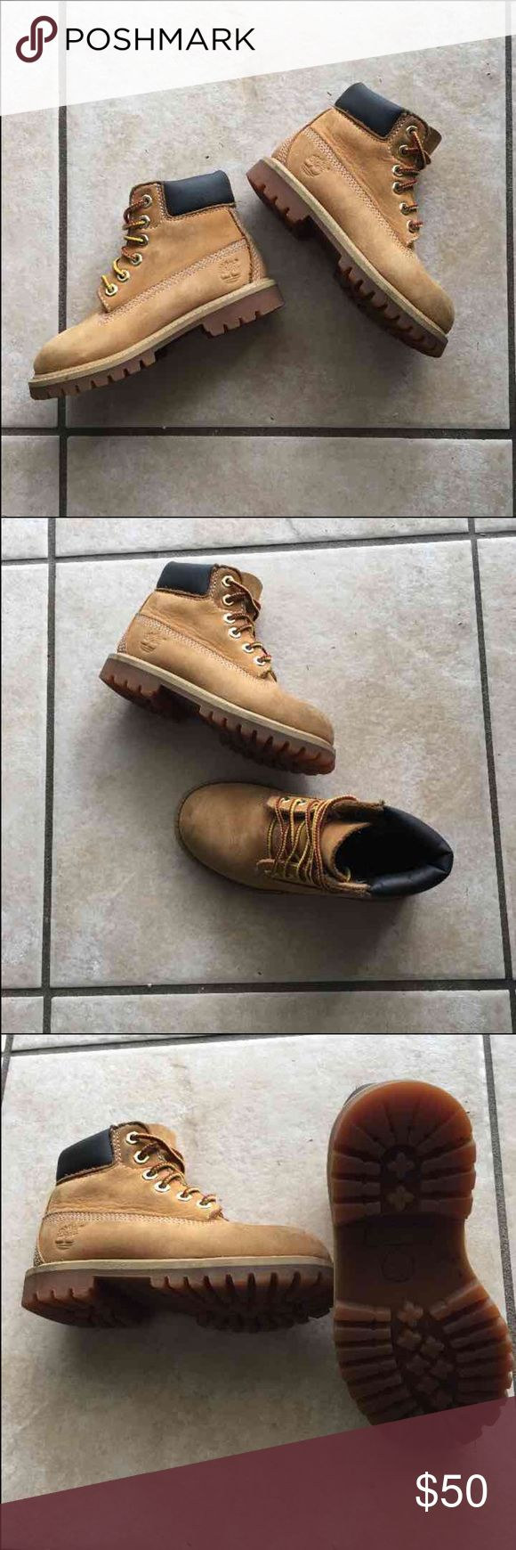 Timberland Boots Kids Timberland Boots size 9. Great Condition!!! Timberland Shoes Boots