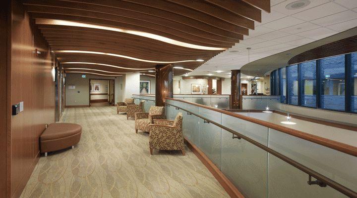Elevator Lobby at the Benjamin & Marian Schuster Heart ...