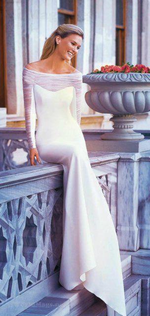 ru_glamour: Бар Рафаэли - фотосессия в свадебных платьях Pronovias